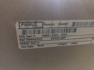 Fanuc Servo Amplifier A06b-6107-h004 New In Box