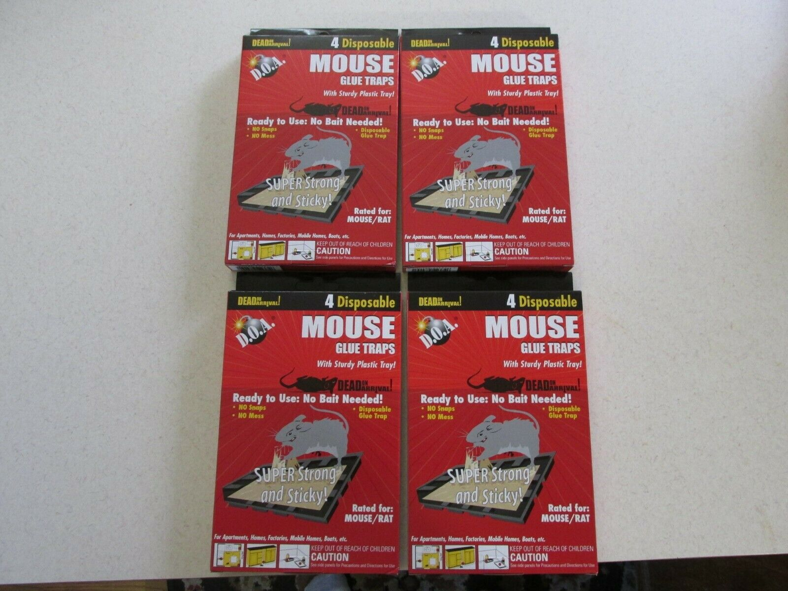 Lot Of 16 Mice Mouse Sticky Glue ...