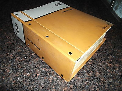 Case 1450 Crawler Tractor Dozer Bulldozer Service Shop Repair Manual Oem