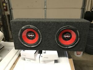 Car audio components / Sony Subwoofer