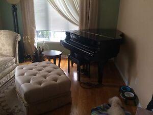 *** SOLD *** grand piano $500