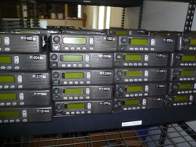 Lot Of 60 Motorola Mcs2000 800 Mhz Two Way Radio M01ugl6pw4an