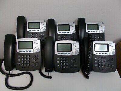 Lot 6 Pcs Digium D40 2-line Hd Voice Business Office Ip Phones 1teld041lf