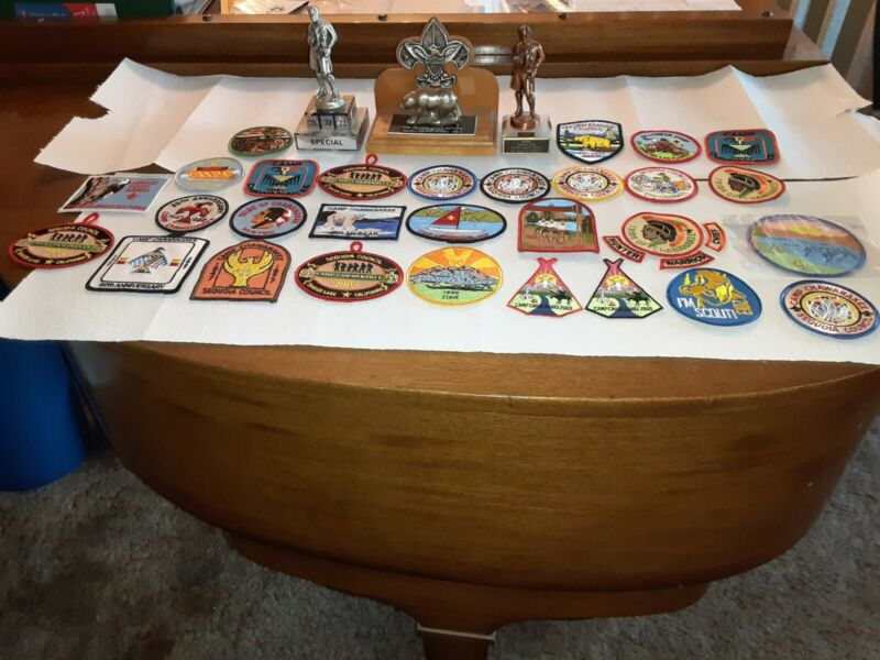 Silver Bear Award, Camp Chawanakee Patch Boy Scout Lot