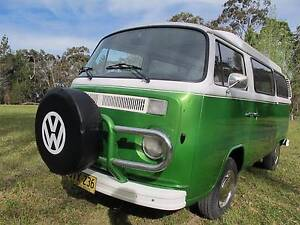 RESTORED VW VOLKSWAGEN KOMBI CAMPER VAN 1973 POPTOP MANUAL Somersby Gosford Area Preview