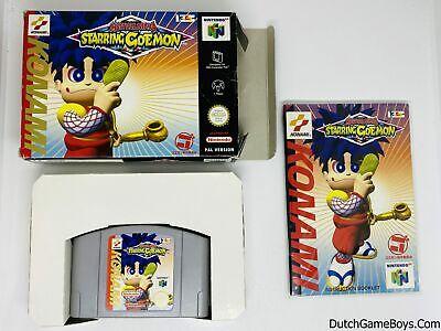 Mystical Ninja - Starring Goemon - EUR - Nintendo 64 - N64