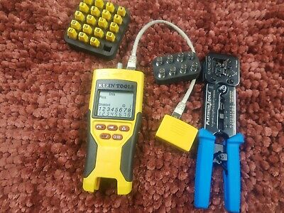 Klein Tools Vdv501-068 Scout Pro Tester Kit Tests Data Voice Video Connection
