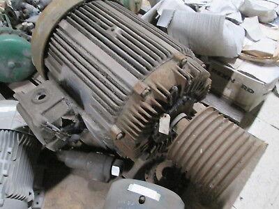 Allis-chalmers Ac Motor Gzz 60hp 1200rpm Fr444u 220440v 14472a Used