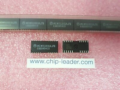4x Motorola Mcm511001aj70 Ic Nibble Mode Dram 1mx1 70ns Cmos Pdso-20