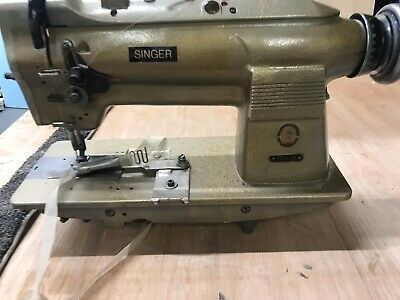 Singer Industrial Leather Sewing Machine With Carpet Binder 211 G 151
