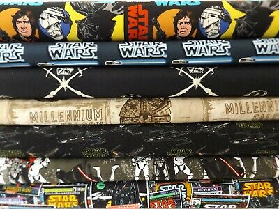 Star Wars Fabric - 100% Cotton - Fat Quarters - Hobbies,Craft,Quilting,Patchwork