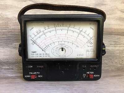 Vintage Lafayette Analog Multi Meter Tester 99-5076