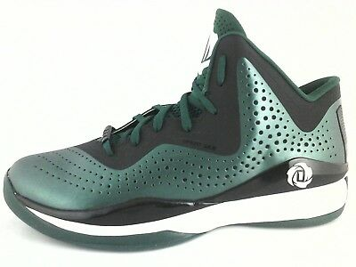 Adidas D Rose 773 Men's Basketball Shoes C75723 Green Black US 12 EU 46 2/3  New for sale  Shipping to Canada