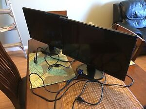 Two BenQ Monitors