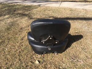 Russel tallboy seat with backrest
