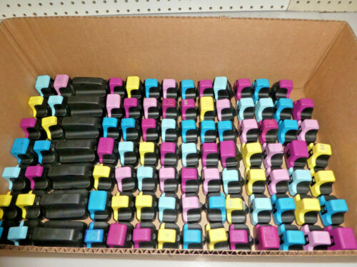 LOT OF 300 HP 02 Multi-Color INK CARTRIDGE USED/EMPTY/UNTESTED/Genuine