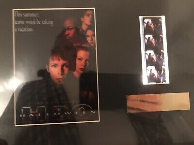 Halloween H2O Original 35mm Film Cell John Carpenter The Fog RARE
