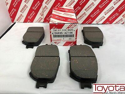 (2002-2006 Toyota Camry Oem Front Genuine Brake Pads 04465-AZ106)