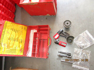 Hilti Dx-600n Heavy Duty Powder Actuated Nail Stud Gun Kit Mint Combo 814