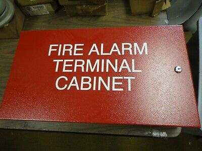 Simplex - Fire Alarm Terminal Cabinet 24 X 13 X 6 New Old Stock - Never Used
