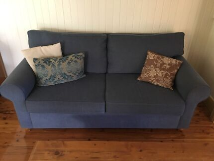 Double sofa bed and  matching 2 seater sofa for sale