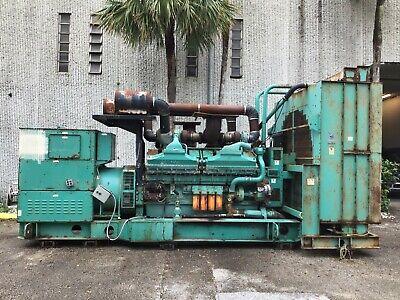 Cummins Qsk60-g6 Complete Generator Set 2000 Kw