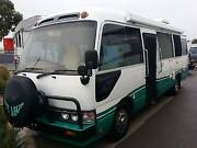 1997 Toyota Coaster Motorhome by Adventure Caravan Regency Park Port Adelaide Area Preview