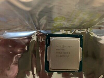 Intel® Core™ i5-6400T @2.20GHZ Quad Core Processor 6th Gen.Socket LGA 1151 SR2L1