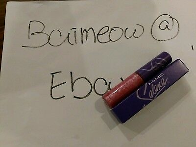 LE MAC SELENA BIDI BIDI BOM BOM LIPGLASS BNIB AUTHENTIC limited edition lipgloss segunda mano  Embacar hacia Mexico