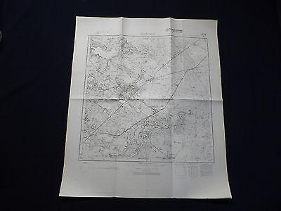 Landkarte Meßtischblatt 2863 Ruschendorf / Rusinowo, Deutsch Krone, von 1937