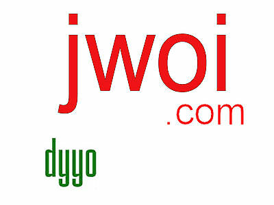 jwoi.COM LLLL com 4 letter domain GoDaddy since 2005 brandable
