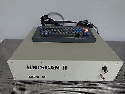 Multigon Uniscan Ii Model 4600 Fft Sonogram Spectral Test Equipment Wkeyboard