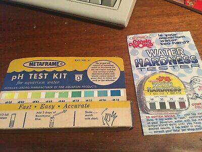 Metaframe Aquarium - Two Vintage Test Kits