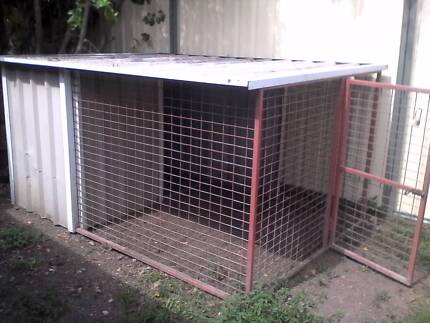 Heavy duty Large dog cage 2.6m x 1.8m Meadowbrook Logan Area Preview
