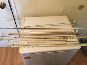 Assortment of curtain rods