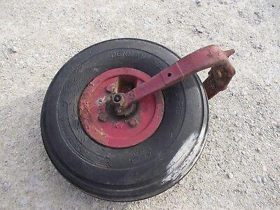 Mccormick F12 F14 Tractor Complete Singe Front Wheel Tire Hub Yoke Frontend