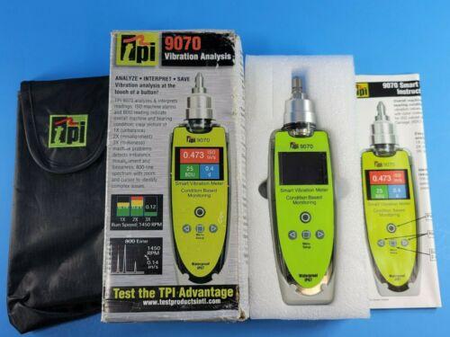 New TPI 9070 Smart Vibration Meter, See Details!