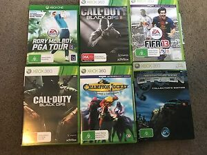 Xbox 360 with 2 controllers and 6 games Randwick Eastern Suburbs Preview