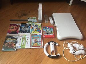 Wii with all the extras!!!