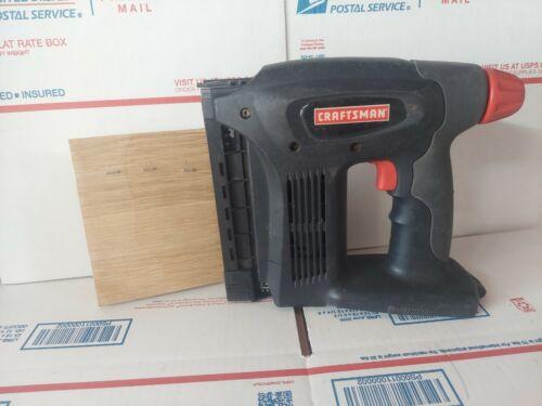Craftsman 19.2v Cordless Nailer/Stapler Gun 315.115122 Tool Only  - $77.00