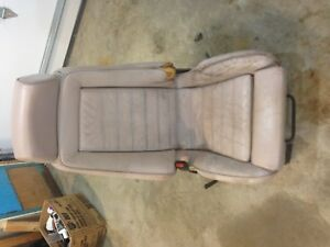 BMW E24 Recaro Seats manual tan beige 635CSi