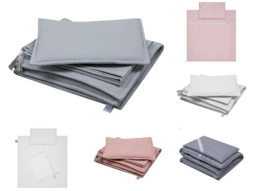New Small Baby Bedding Set for Space Saver Cot, Crib, Cradle, Mini Cot, Pram