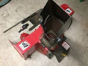 Front  PTO, 4 Foot, 2 Stage Snowblower w/Quick-Hitch