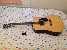 Monterey Acoustic Guitar, Soft Case & Capo for Sale Footscray Maribyrnong Area Preview