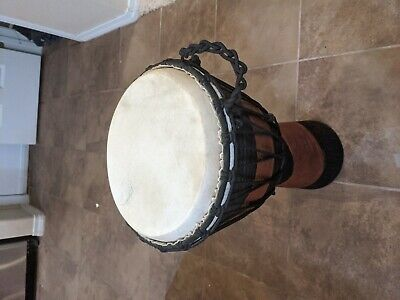 Mali african djembe drum (used)  for sale  Shipping to Nigeria