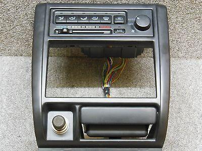 1992 1995 Subaru Impreza GF AC Heater climate control With Frame Ashtray JDM OEM