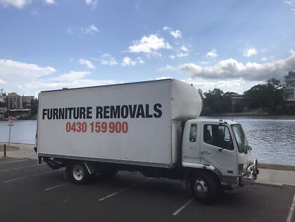 REMOVALS / 02 MEN AND A TRUCK FROM $80 P/HOUR / BEST PRICE