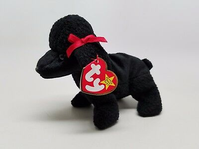 TY Beanie Baby GiGi the Dog MWMTs Stuffed Animal Toy Clean