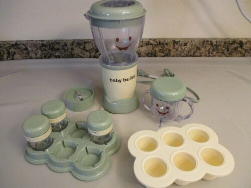 Magic Baby Bullet Food Blender Processor System, Partial.  Tested