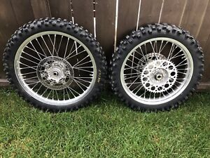 Yamaha EXCEL Rims & Tires 125 250 450